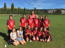 U13 Girls - victory against Uckfield