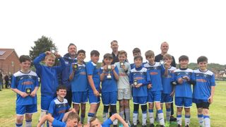Winscombe Under 12's Finish Season in Style with Cup Win.