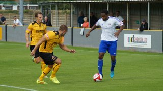 Loughborough Dynamo 1 Basford United 3 - FA Cup - 29/08/15