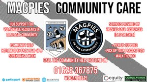 Magpies Community Care | MUFC helping out the vulnerable and disadvantaged