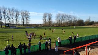 Glorious Away Day in the December Sun at Oldham RUFC