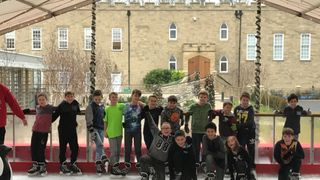 EGRFC U11's ice skating
