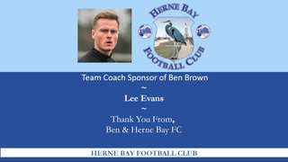 Player / Team Sponsors 2019/20