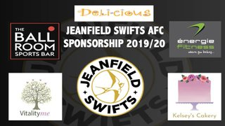 New sponsorships at Jeanfield Swifts AFC
