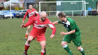 Snow show for Acton against Offa