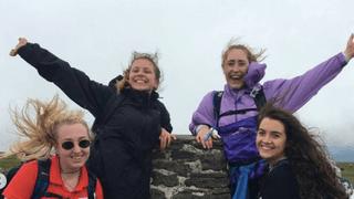 Yorkshire Three Peaks for the Alzheimer's Society