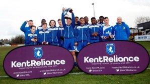 U14s Kent County Cup Winners 2016