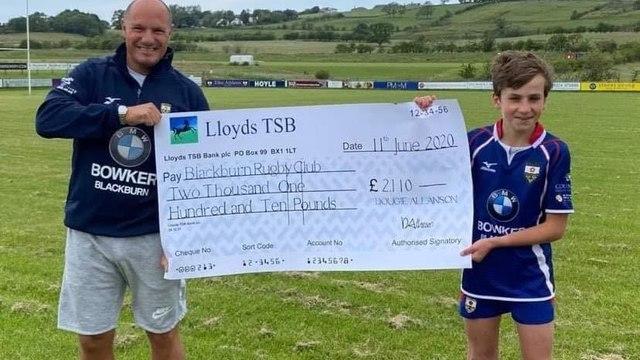 Dougie, what a superstar! Raising £2,110