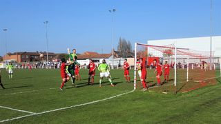 Selby Town (a) 08.04.2017 (mobile phone shots)