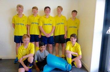 U16 Boys Indoor Dec 2015