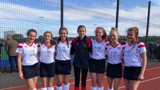 8 of our Girls play for North District in Edinburgh
