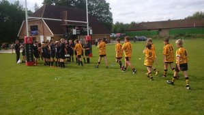 Tigers first outing - tough but a strong showing