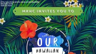 Aloha! Hawaiian social announced!