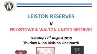 Reserves 2019/2020