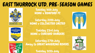 THREE HOME FRIENDLIES COMING UP
