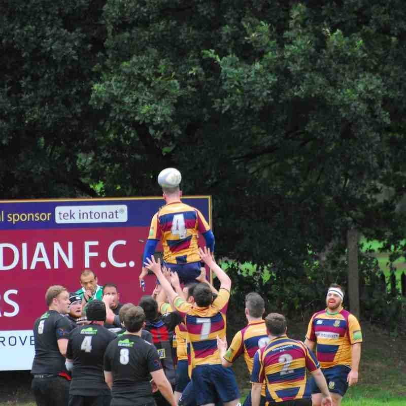 Edwardians 2nd XV v Spartans 3rd XV - 3/9/16 W 17 - 12