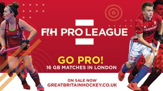 Great Britain's Men and Women are playing in the brand new FIH Pro League