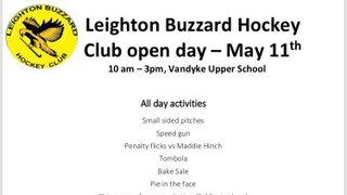 Club Open Day! Who's joining us?