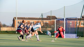 Ladies 2nds v Loughborough Town 23/2/19 c/o Graham Lenton