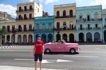 Mikey in Cuba