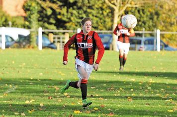 Haydn Morris vs Coton Green- courtesy of the Droitwich Standard