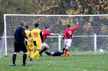Max Crisp nets vs Earlswood - courtesy of Miriam Balfry & the Droitwich Advertiser