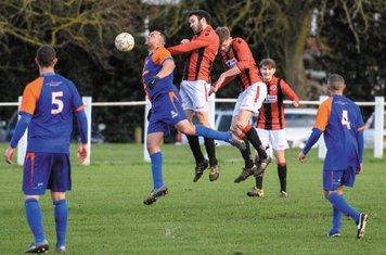 Mike Seeley, Nick Seabourne & Jack Brighton vs Barnt Green - courtesy of Alex Bradbury & The Droitwich Standard