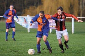 Jack Brighton vs Barnt Green - courtesy of Alex Bradbury & The Droitwich Standard