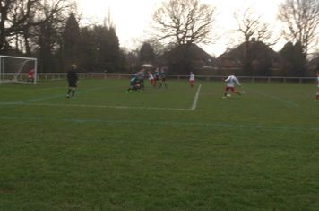 Max Crisp strikes a free kick vs Sutton Utd (A)