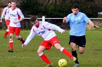 Bradley Burgess vs Chelmsley (A) - Photo courtesy of Jon Holloway
