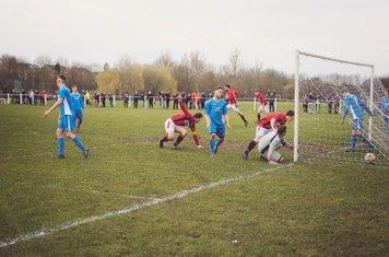 Mark Burrows gets Spa's 2nd vs Rostance Edwards - courtesy of Zara Dowthwaite Photography
