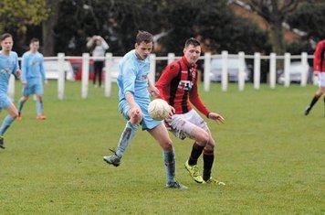 James Lemon vs Alvis - photo courtesy of the Droitwich Standard