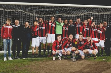 Now the pose with the Cup  - photo courtesy of Zara Dowthwaite Photography