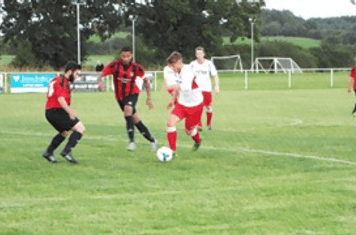 Aston Gunter - Friendly v Alcester Town (A) courstesy of Peter Ray