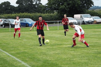 Aston Gunter & Bradley Burgess Friendly v Alcester Town (A) courtesy of Peter Ray