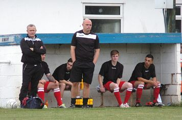 The bench vs Pershore Town courtesy of Marcus Mingins
