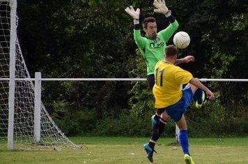 Matt Oliver v Fairfield - courtesy of Jonathan Holloway