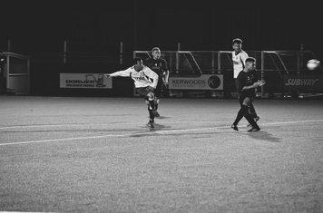 Molloy scores Spa's 3rd v Redditch Borough (A) - courtesy of Zara Dowthwaite Photography