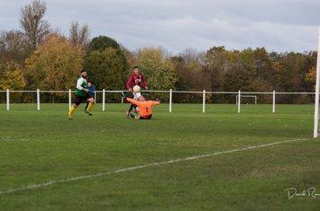Luke Molloy v Leamington Hibs - photo courtesy of David Rawlings