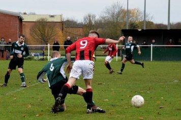 Seabourne beats his man v Sutton United - photo courtesy of Jonathan Holloway