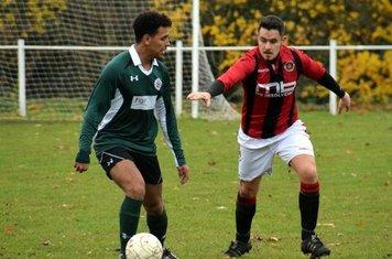 Matty Hunt v Sutton United - photo courtesy of Jonathan Holloway