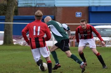 Haydn Morris & Graeme Pardoe v Sutton United - courtesy of Jon Holloway