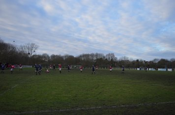 Panorama of KGPF v Knowle - courtesy of Owen Morris