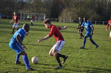 Nick Seabourne v Paget Rangers - courtesy of Owen Morris