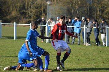 Luke Molloy v Paget Rangers - courtesy of Owen Morris