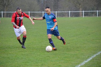 Andy Crowther v Smithswood Firs - Photo's courtesy of Smithswood Firs FC