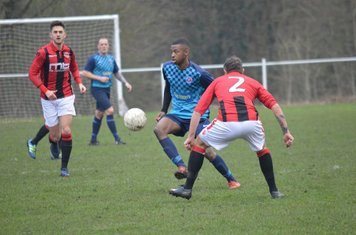 Crowther & Jack Allerton v Smithswood Firs - Photo's courtesy of Smithswood Firs FC