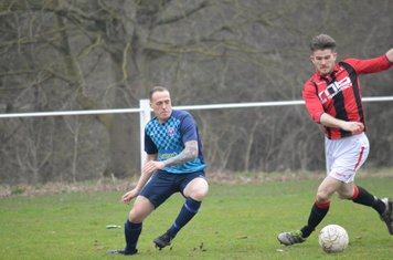 Nick Seabourne v Smithswood Firs - Photo's courtesy of Smithswood Firs FC