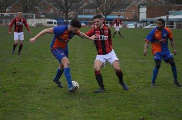 Jack Allerton v Barnt Green Spartak - photo courtesy of Owen Morris