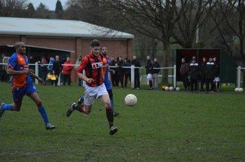 Nick Seabourne v Barnt Green Spartak - photo courtesy of Owen Morris